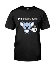 Koala Tee Dark Classic T-Shirt front