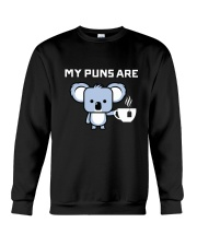 Koala Tee Dark Crewneck Sweatshirt front