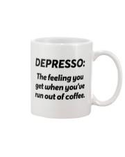Depresso Mug Mug front
