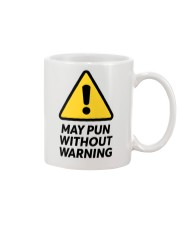 May Pun Without Warning Mug thumbnail