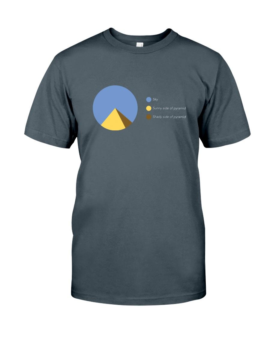 Pyramid Pie Classic T-Shirt