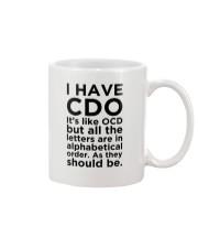 CDO Mug front