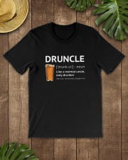Druncle - Like a normal uncle only drunker Classic T-Shirt lifestyle-mens-crewneck-front-18