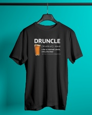 Druncle - Like a normal uncle only drunker Classic T-Shirt lifestyle-mens-crewneck-front-3