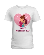 Baby and Mom on Morther's Day Ladies T-Shirt tile