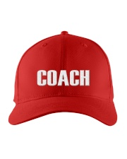 Coach word  Embroidered Hat front