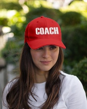 Coach word  Embroidered Hat garment-embroidery-hat-lifestyle-07