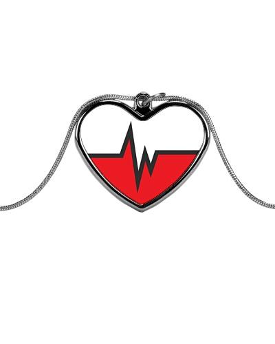 white red heart pulse