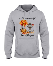 NC - Ice Hockey Wonderful Hooded Sweatshirt front