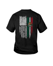 7DK - American blood inside me back ver Youth T-Shirt thumbnail