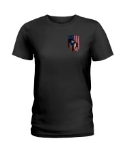 NC - Puerto Rican Blood inside me full Ladies T-Shirt thumbnail