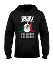 7DK - Daddy shark christmas gift Hooded Sweatshirt thumbnail