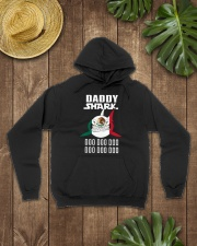 7DK - Daddy shark christmas gift Hooded Sweatshirt lifestyle-unisex-hoodie-front-7