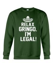 7DK - Relax gringo i'm legal Crewneck Sweatshirt thumbnail