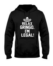 7DK - Relax gringo i'm legal Hooded Sweatshirt front