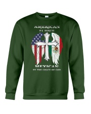 7DK - American by birth mexican by the grace of go Crewneck Sweatshirt thumbnail