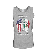 7DK - American by birth mexican by the grace of go Unisex Tank thumbnail