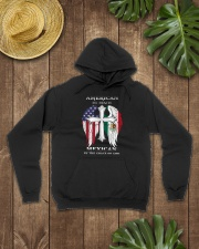 7DK - American by birth mexican by the grace of go Hooded Sweatshirt lifestyle-unisex-hoodie-front-7