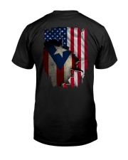 NC - Puerto Rican Blood inside me Classic T-Shirt back