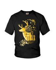 NC - Deer Wonderful Youth T-Shirt thumbnail