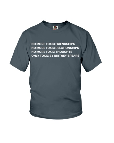 No More Toxic Friendships Shirt