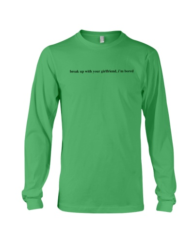 Break Up With Your Girlfriend I'm Bored T Shirt