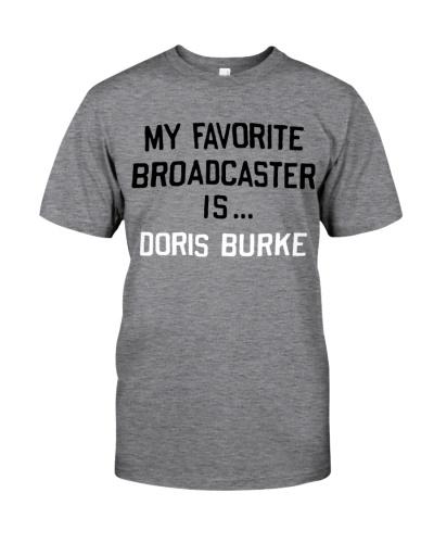 My Favorite Broadcaster Is Doris Burke Shirt