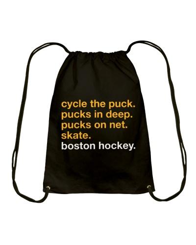 Cycle The Puck Pucks In Deep Boston Hockey Shirt