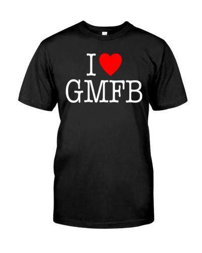 PANTHERS I Heart Love GMFB T-Shirt