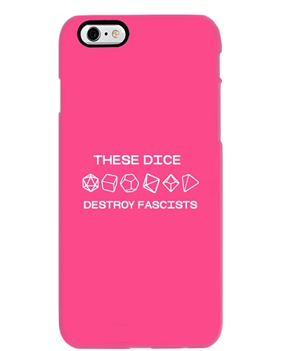 These Dice Destroy Fascists Shirt