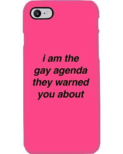 I Am The Gay Agenda They Warned You About Shirt