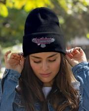 NATALINA CORVINO BEANIE V1 Knit Beanie garment-embroidery-beanie-lifestyle-07