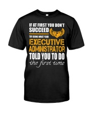 STICKER EXECUTIVE ADMINISTRATOR Classic T-Shirt thumbnail