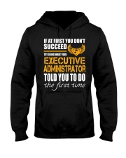 STICKER EXECUTIVE ADMINISTRATOR Hooded Sweatshirt thumbnail