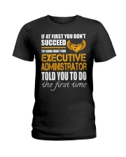 STICKER EXECUTIVE ADMINISTRATOR Ladies T-Shirt thumbnail