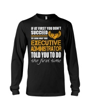 STICKER EXECUTIVE ADMINISTRATOR Long Sleeve Tee thumbnail