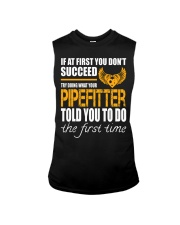 STICKER PIPEFITTER Sleeveless Tee tile