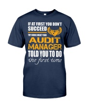 STICKER AUDIT MANAGER Classic T-Shirt front