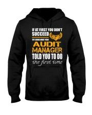STICKER AUDIT MANAGER Hooded Sweatshirt thumbnail