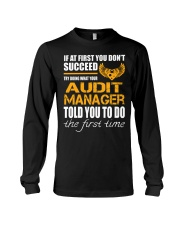 STICKER AUDIT MANAGER Long Sleeve Tee thumbnail