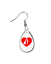lovers couple Teardrop Earrings thumbnail