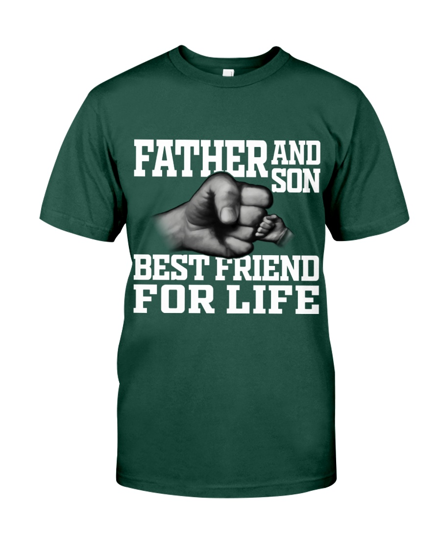 Father And Son Best Friend For Life Premium Fit Mens Tee