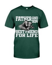 Father And Son Best Friend For Life Premium Fit Mens Tee front