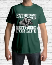 Father And Son Best Friend For Life Premium Fit Mens Tee lifestyle-mens-crewneck-front-1