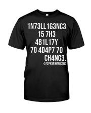 1n73ll1g3nc3 Classic T-Shirt front