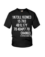 1n73ll1g3nc3 Youth T-Shirt thumbnail
