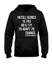 1n73ll1g3nc3 Hooded Sweatshirt thumbnail