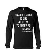 1n73ll1g3nc3 Long Sleeve Tee thumbnail