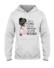 Tattoos and Love Books Limited Edition Hooded Sweatshirt thumbnail