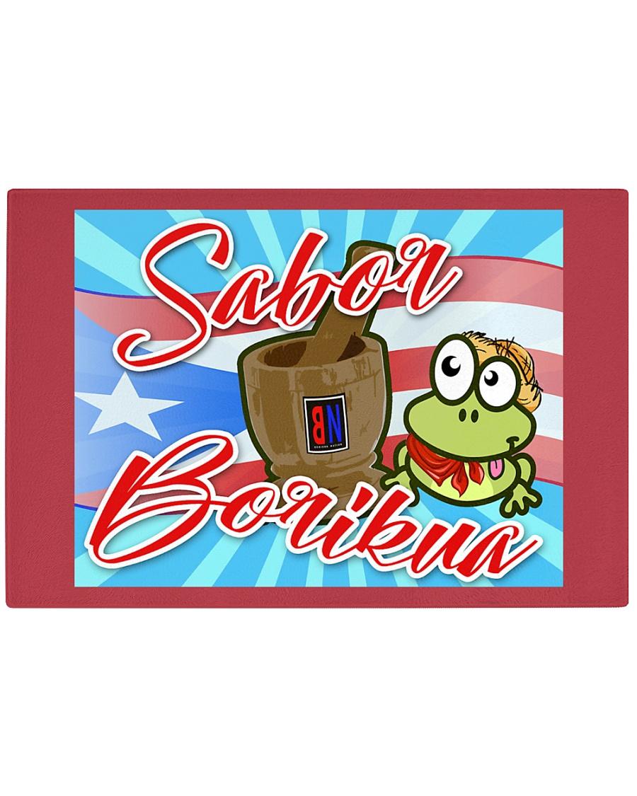 Sabor Borikua Rectangle Cutting Board